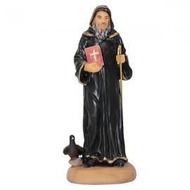 Statue Saint Benoit - 18cm