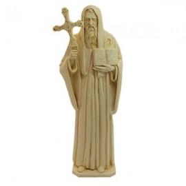 Statue Saint Benoit poudre de Marbre
