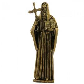 Heilige Benediktus Marmor Pulver Bronze Farbe