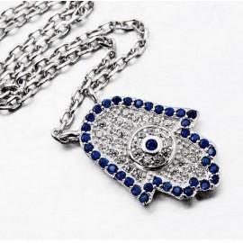 Fatma's hand necklace - silver 925