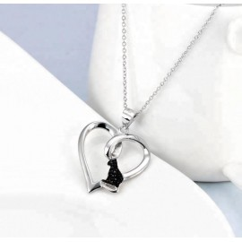 Black Cat Jewelry, Sterling Silver 925