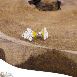 Boucles d'oreilles Anges - Argent 925