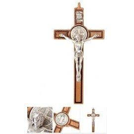 Croix Saint Benoit - 15 x 30 cm