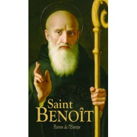 Saint Benoît - Patron de l'Europe