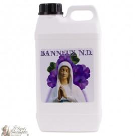 Bidon avec eau de Banneux N.D - 2 L