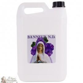 Bidon avec eau de Banneux N.D - 5L