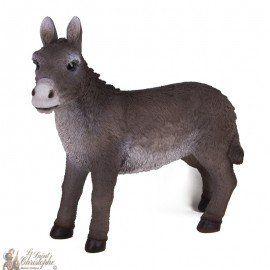 Stan-up Donkey for Christmas crib - 30-38 cm