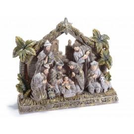 Crèche de Noël résine