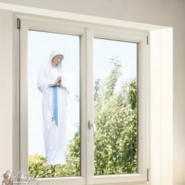 Stickers Vierge des Pauvres de Banneux N.D - statique fenêtre