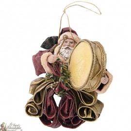 Santa Claus hanging - Christmas tree