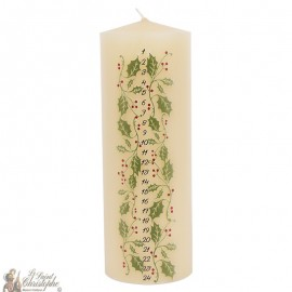 Advent Christmas candle