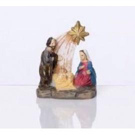 Mini crèche de Noël - 3 cm