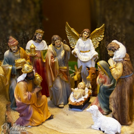 Christmas Crib Images Hd.Resin Christmas Crib 11 Pieces