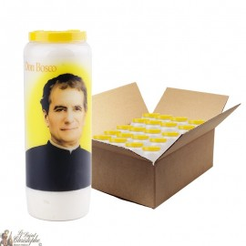 Don Bosco Novena Candles - 20 pieces