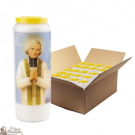 Johannes Maria Vianney Novena Candles - 20 pieces