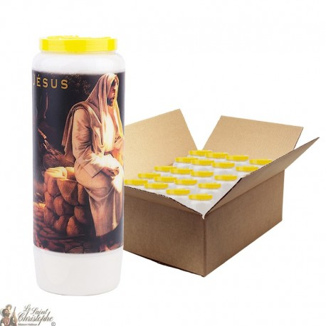 Novena candles prayer child protection - 20 pieces