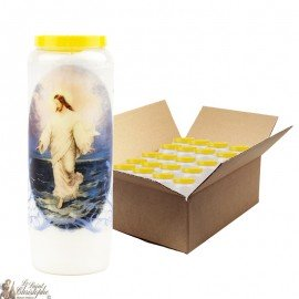 Jesus Novena candles walked on the water - 20 pieces