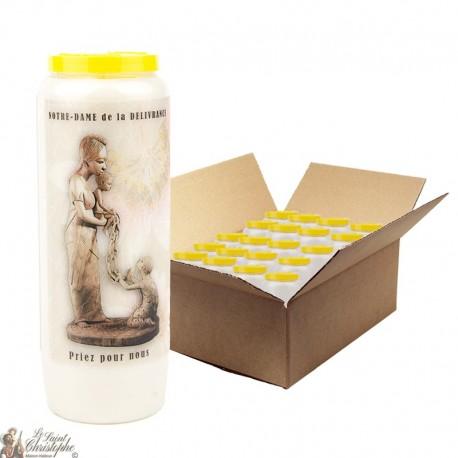 Virgin Mary Novena kaarsen van goede levering - 20 stuks