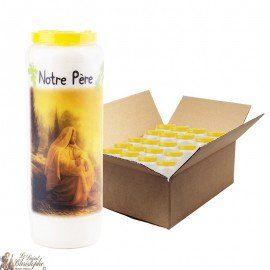 Novena candles Our father prayer - 20 pieces