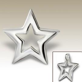 Star pendant - 925 silver