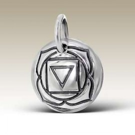 Tibetan Pendant - Silver 925