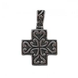 Pendentif croix - véritable Argent 925