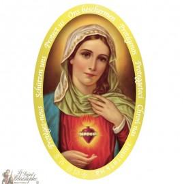 Heilige Hart van Maria sticker