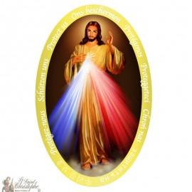 Christus Barmhartige Sticker