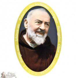 Pater Pio Sticker
