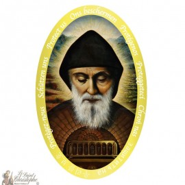 Sticker Saint Charbel