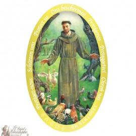 Sticker Sint Franciscus van Assisi
