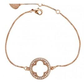 Bracelet élégant plaqué or rose