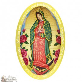 Sticker Our Lady of Guadalupe