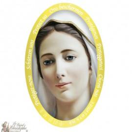 Sticker Onze-Lieve-Vrouw van Medjugorje
