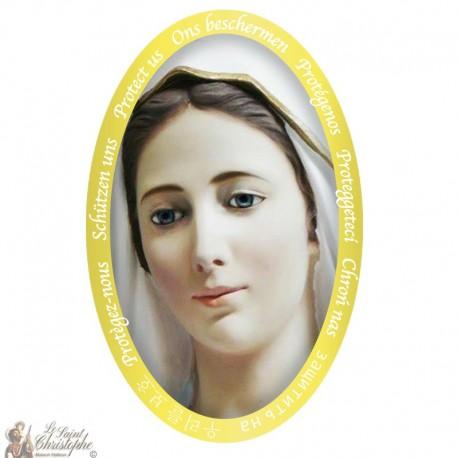 Sticker Onze-Lieve-Vrouw van Lourdes