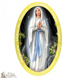 Sticker Our Lady of Lourdes