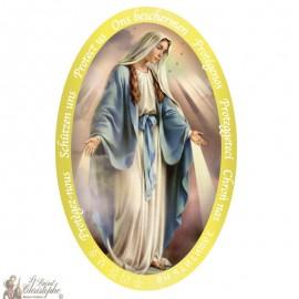 Miraculous Virgin Sticker