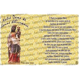 Cartolina Nostra Signora della Liberatoria - magnetica