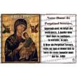 Carte postale Père Damien prière - aimantée