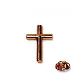 Croix Prêtre Pins - dorée