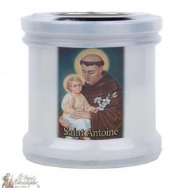 Bougies veilleuses de remerciement à Saint Antoine