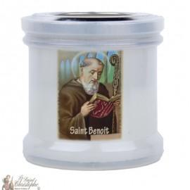 Bougies veilleuses de remerciement à Saint Benoit