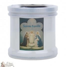 Bougies veilleuses de remerciement à la Sainte Famille