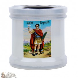 Candles to thank St Expedit