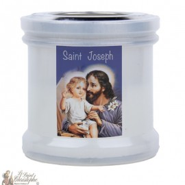 Candles to thank Saint Joseph