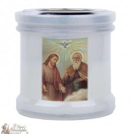 Bougies veilleuses de remerciement à la Sainte trinité