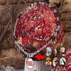 Bracelet cœurs hématites - personnalisable