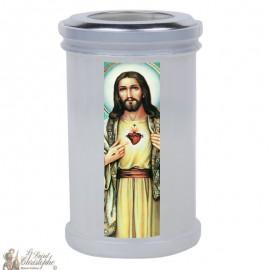 Bougies veilleuses de remerciement au Sacré Coeur de Jésus