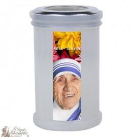 Nachtlicht kaarsen om Moeder Teresa te bedanken