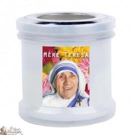 Bougies veilleuses de remerciement à Mère Teresa
